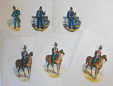 six vintage  sheets of imperial  german military headed  writing paper