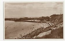 Folkestone, East Cliff Sands & Harbour RP Postcard, A702