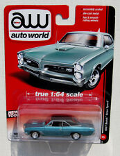 AUTO WORLD 1967 BUICK GRAN SPORT #5 Blue True 1:64 NEW TOOL B