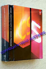 Adobe Creative Suite 5.5 Design Premium Macintosh englisch voll Box -MwSt. CS5.5