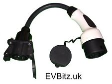 Type 1 (J1772) to Type 2 EV Electric Vehicle Charging Adapter 900g