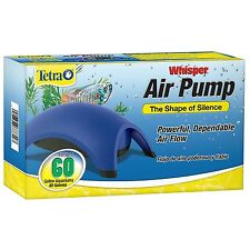 Tetra Whisper Air Pump For Up to 60-gallon aquariums New, Free shiping