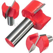 "1/2"" Shank Bottom Cleaning Dado Router Bit Tenon Joint Cutter Stripping Cutter"