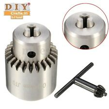 DIYcrafts®Mini 0.3-4mm Jt0 Drill Lathe Chuck Adaptor Taper RotaryTool Shaft Keyh