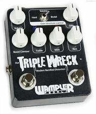NEW WAMPLER PEDALS TRIPLE WRECK DISTORTION GUITAR EFFECTS PEDAL w/ FREE US S&H