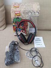 CUFFIE  della MARVEL come nuove per PS3 XBOX 360 e PC ! Stereo Gaming Headphones