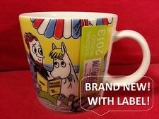 Moomin Mug Arabia SNORKMAIDEN And The POET mumin becher moumine boy christmas