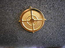 SNIPER HAT PIN - SNIPER SCOPE - GOLD COLOR
