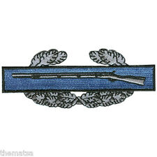 """ARMY CIB COMBAT INFANTRY BADGE EMBROIDERED MILITARY  3.5""""  PATCH"""