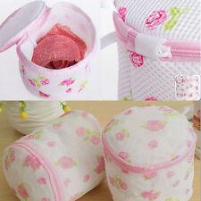 Lingerie Washing Net Bag NEW Laundry Bra Delicate Hosiery Mesh Zipper box DSUK