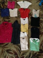 Choice of 1 Women's Ralph Lauren Shirt Size S M, L t shirt,polo,shirt button up