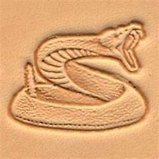 8318 Rattlesnake Craftool 3-D Stamp Tandy Leather 88318-00