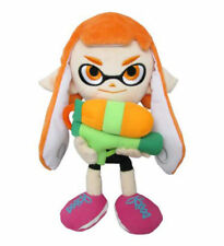 "NEW AUTHENTIC Splatoon 1467 - 9"" Female Inkling Stuffed Plush Doll Little Buddy"