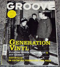 GROOVE MAG 3/4 2011 Vinyl Presswerk Ricardo Floating Points Ramdanm Joy Orbison