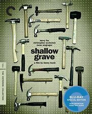 SHALLOW GRAVE Criterion Collection BLU-RAY Brand New & Sealed DANNY BOYLE