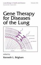 Gene Therapy for Diseases of the Lung (Lung Biology in Health and Dise-ExLibrary