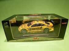 MAISTO 1:18 MERCEDES BENZ CLK DTM 2004 - SONAX No.13 - RARE SELTEN -  DEALER BOX