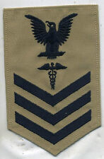 US Navy Petty Officer 1st Class Hospital Corpsman Tan Patch
