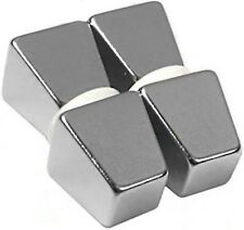"1/2"" x 5/16"" x 1/2"" Tapered Block/Wedge - Neodymium Rare Earth Magnet,"