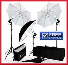 LimoStudio 840 Watt Photography Video Portrait Umbrella Continuous Lighting Kit