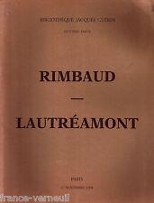 Catalogue Bibliotheque Jacques Guerin Septieme Partie Appolinaire Corbiere ...