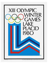 LAKE PLACID 1980 Winter Olympic Games Official Olympic Museum POSTER Reprint