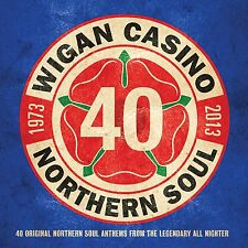 WIGAN CASINO - 40th ANNIVERSARY ALBUM - VARIOUS: 2CD ALBUM SET (2013)