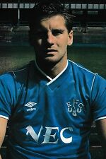 Football Photo PAUL BRACEWELL Everton 1986-87