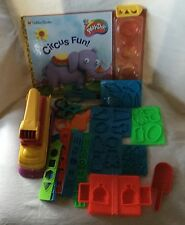 HUGE Lot Playskol Play-doh Molds Cutters Knives Fun Factory Letters See ALL PICS