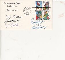 COMEDY WRITERS AUTOGRAPHS TV ON U.S.A. FIRST DAY COVER