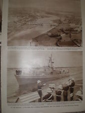 Photo article West Germany minesweeper Herkules arrives Chatham 1963 ref Z4