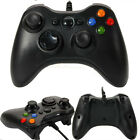 New Black wired Game Remote Controller for Microsoft Xbox 360 Console YKS