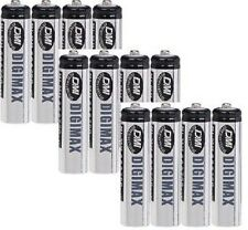 12 x AAA 750 MAH RECHARGEABLE BATTERIES-NI-MH (LR03)