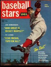 1953 Dell Baseball Stars Magazine Robin Roberts Magazine Cover VGEX