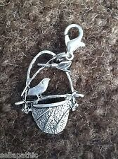 Bird Nest   Charm Tibetan Silver Bookmark Cross Stitch Scrapbooking Bracelet
