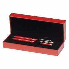 Sheaffer Ferrari 200 Rosso Corsa Ballpoint & Pencil Set - New In Box (rrp £80)