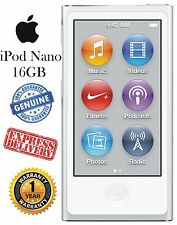 NEW SEALED!! Apple iPod nano® 16GB MP3 Player 7th Gen. (Mod. MD480LL/A) - Silver