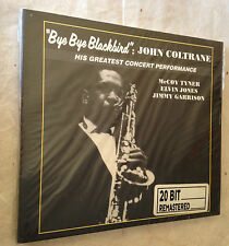 JOHN COLTRANE CD BYE BYE BLACKBIRD OJC20 681-2 JAZZ