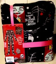 Disney Nightmare Before Christmas Footed Pajamas Jack Sally 1 PC NEW S M L or XL