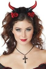 Rose Enchantress Horns California Costumes 60676 Red One Size Fits All