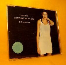 MAXI Single CD EVERYTHING BUT THE GIRL Missing THE REMIX EP 4TR 1994 house