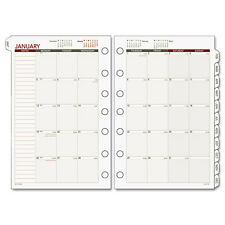 DAYRUNNER 061685Y 2017 CALENDAR MONTHLY PLANNER APPOINTMENT REFILL 5-1/2 x 8-1/2