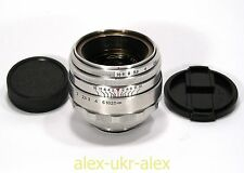 Rare Helios-44 lens 2/58 mm 13 blades for old SLR Zenit M39 mount.№0088918