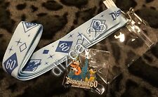 Disney Pin-Lanyard Disneyland 60th Diamond LIMITED Costco Travel Promo Pack