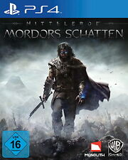 SONY PS4 Mittelerde Mordors Schatten Herr der Ringe Lord of the Rings HdR LotR