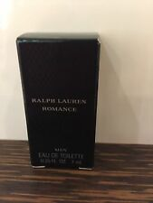 Ralph Lauren ROMANCE FOR MEN MINI EDT Cologne Splash 0.25 oz. RL Perfume ~ NEW