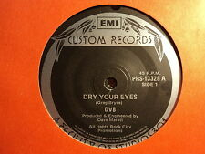 "DV8 ""Dry Your Eyes"" Classic NEWCASTLE Hit Oz 7"""