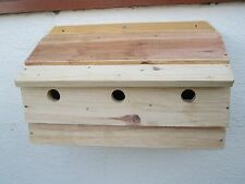 2 off SPECIAL OFFER Sparrow Triple Nesting Box 500 mm