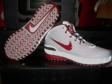 2008 NIKE AIR ZOOM LEBRON VI 6 OHIO STATE Size 12 Basketball Shoes NEW IN BOX!
