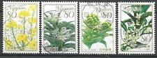˳˳ ҉ ˳˳PM-31 Japan Prefectural SON Postmark Flowers Recent set Japon 日本